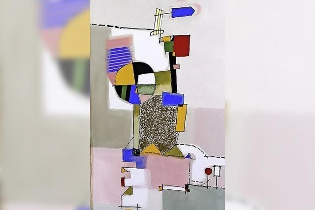 Ausstellung mit Bruno Haas
