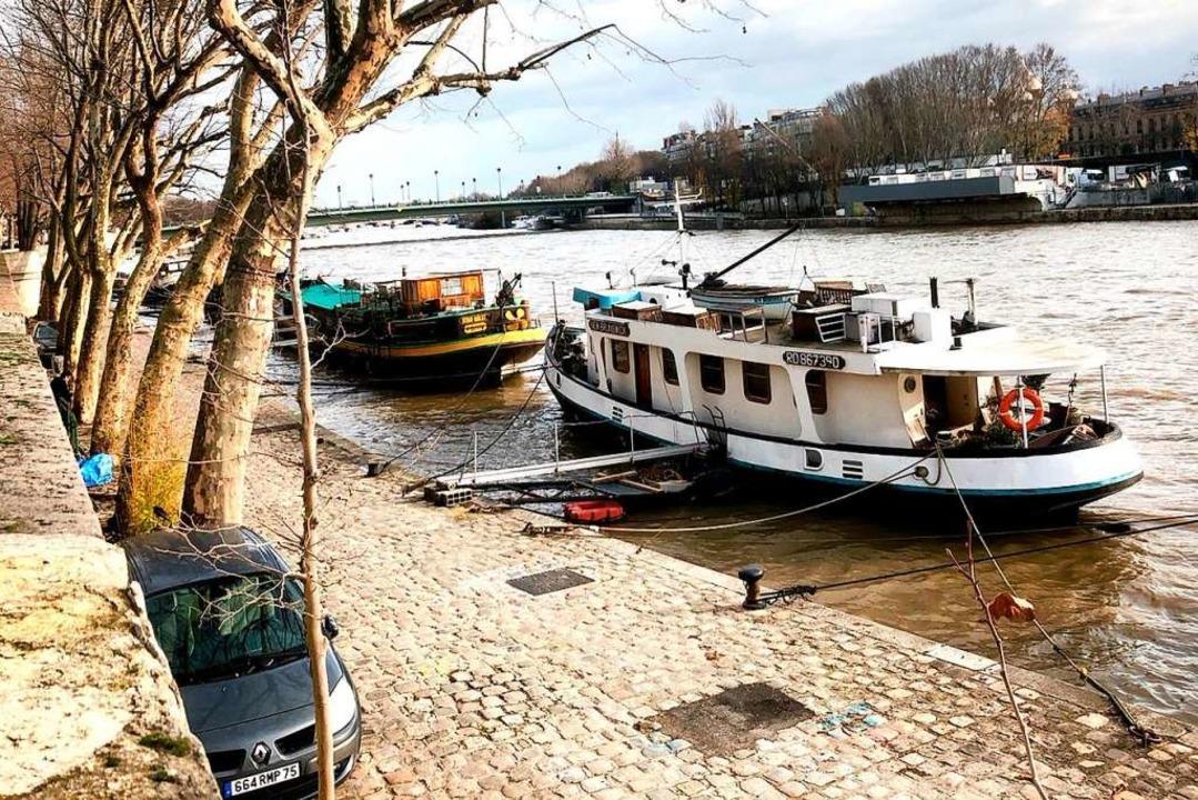 Hausboote an der Seine  | Foto: Knut Krohn