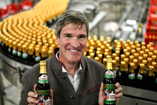 Warum Rothaus-Chef Christian Rasch gerne im Schwarzwald arbeitet