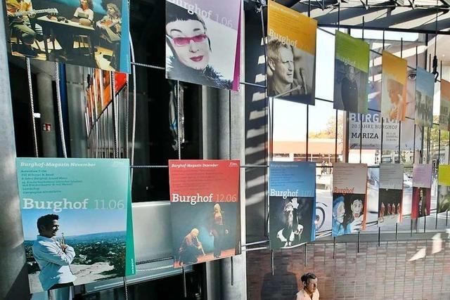 Der Burghof wird 2020 ein zentrales Thema der Lörracher Politik sein
