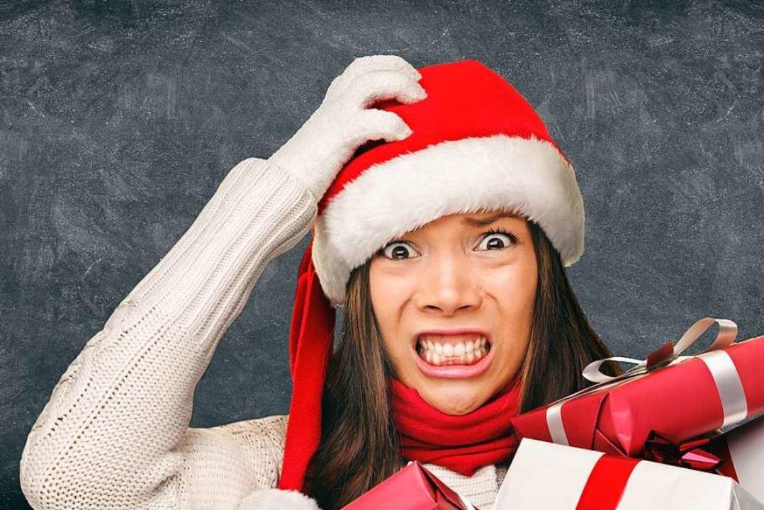 Alle Geschenke gekauft?  Für viele Men...s Weihnachtsfest mit Stress verbunden.  | Foto: Maridav  (stock.adobe.com)