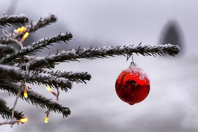 Schnee an Weihnachten gab es zuletzt vor fast zehn Jahren