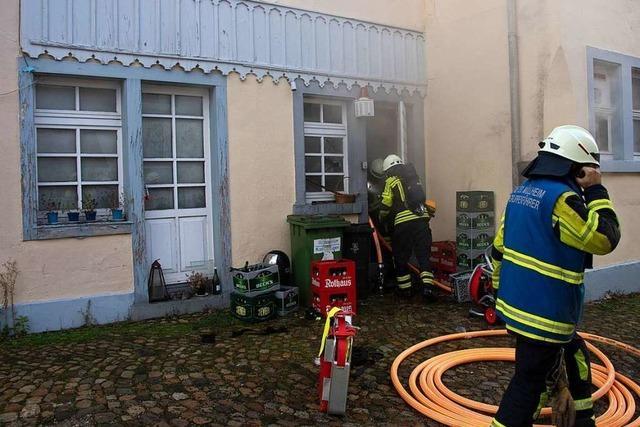 Feuer zerstört Räume des Müllheimer Szenelokals