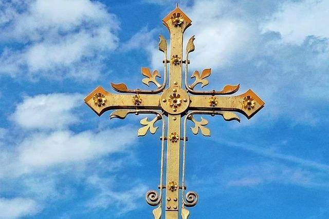 Als das Kreuz der Schopfheimer Kirche fast vom Himmel fiel