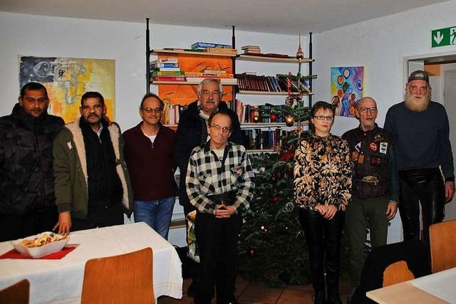 In der Wärmestube in Weil am Rhein wird drei Tage lang Weihnachten gefeiert