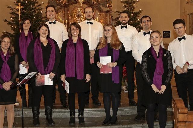 Ensemble Voix Célestes tritt in Eiken/Schweiz und Dogern auf