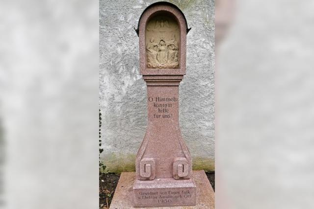 Münstergemeinde hat das Kleindenkmal gerettet
