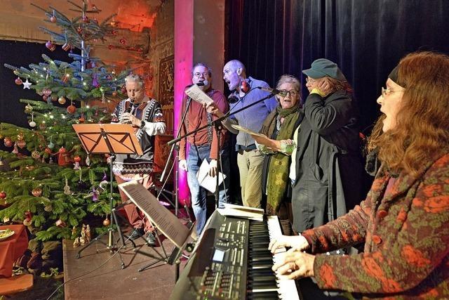 Weihnachtsfeier für Bedürftige in der Wodanhalle