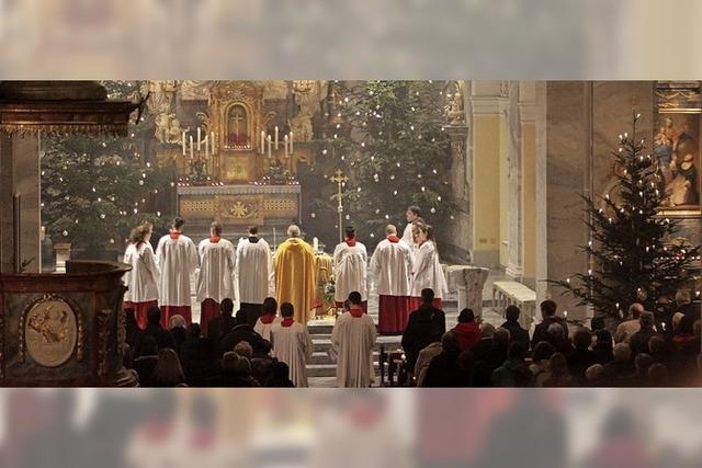 Kein Weihnachten ohne Kirchenbesuch
