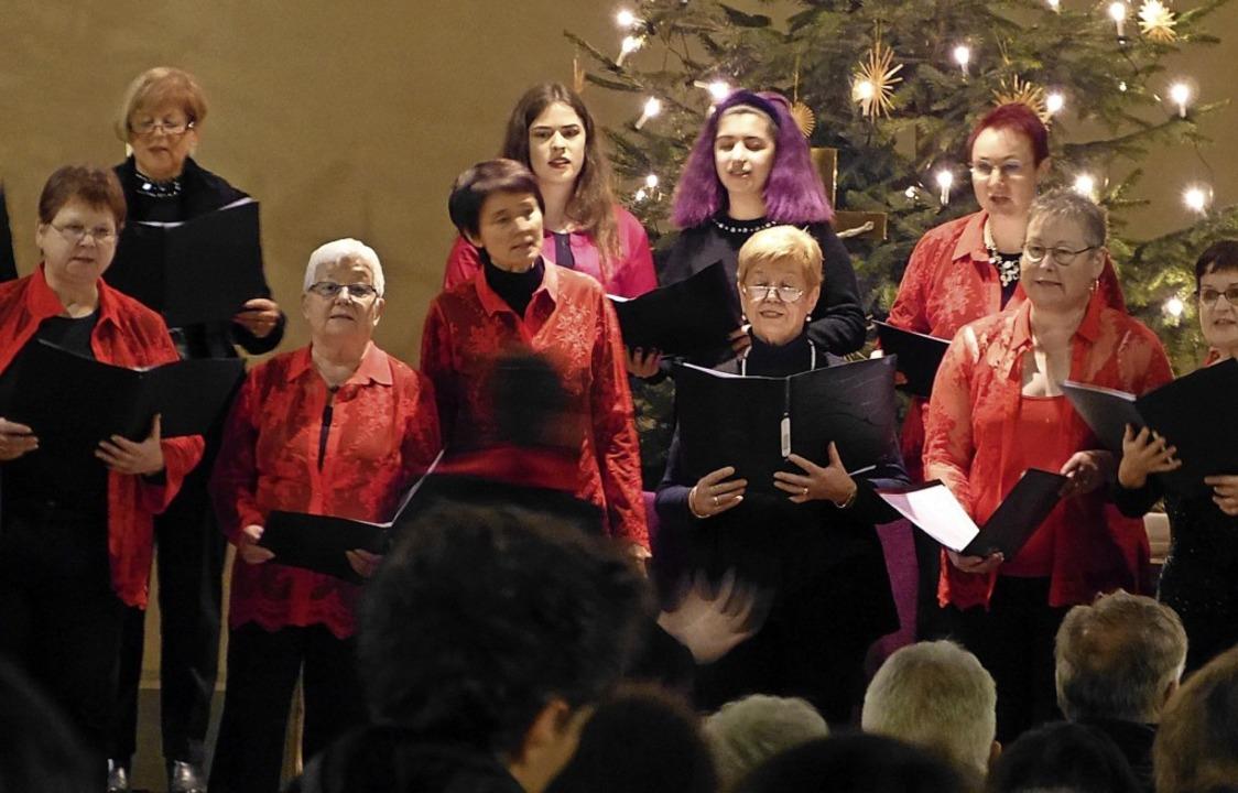 Großen Anklang in der voll besetzten K...uenchor des Gesangvereins Köndringen.     Foto: Aribert Rüssel