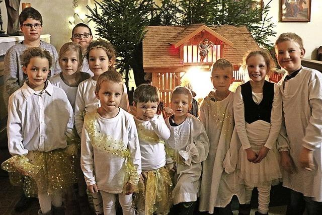 Voll besetzte Kirchen bei den Gottesdiensten an Weihnachten
