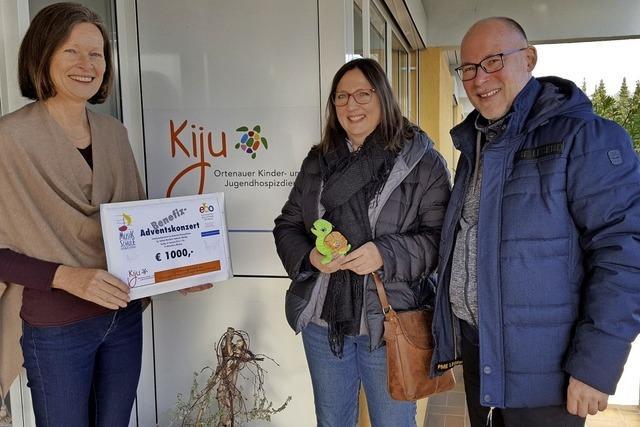 1000 Euro für den Kinder- und Jugend-Hospizdienst