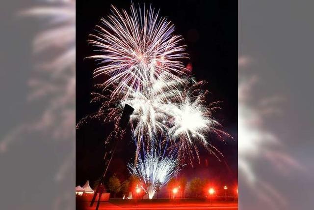 Feuerwerk ist nicht überall in der Stadt erlaubt