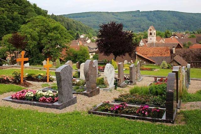 Die Gebühren für die Friedhöfe im Kleinen Wiesental steigen drastisch