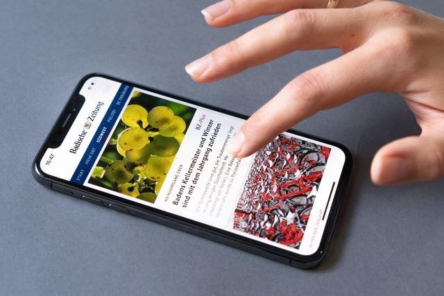 Die digitale BZ: Südbadens Nachrichtenmarkt im Internet