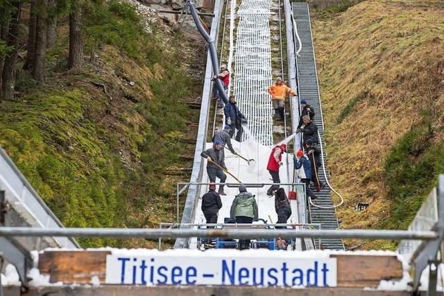Skisprung-Continental Cup abgesagt
