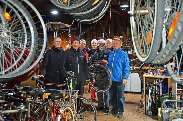 Die Kirchzartener Helferkreis-Fahrradwerkstatt ist ein Erfolgsmodell
