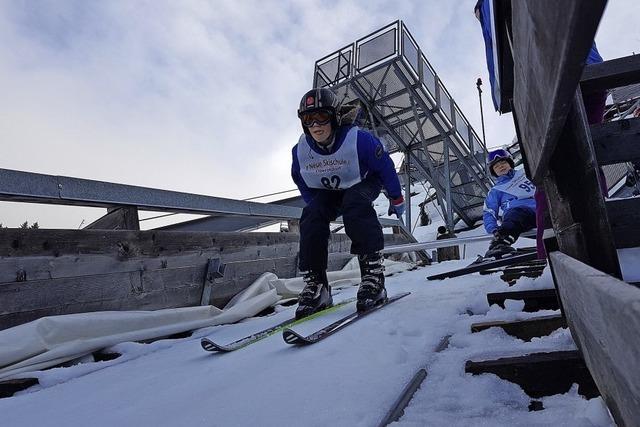 Skispringen im Selbstversuch: Oberstdorf macht's möglich