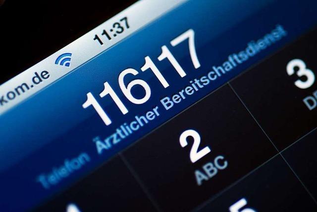 Die 116 117 wird zur zentralen Notfallnummer