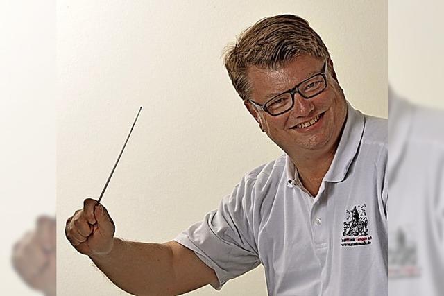 Trauer um Matthias Beno, den Dirigenten der Stadtmusik Tiengen