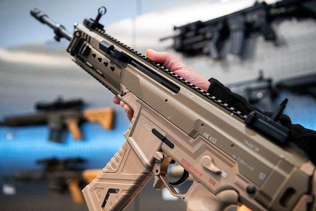 Bundesregierung genehmigt Rüstungsexporte in Rekordhöhe