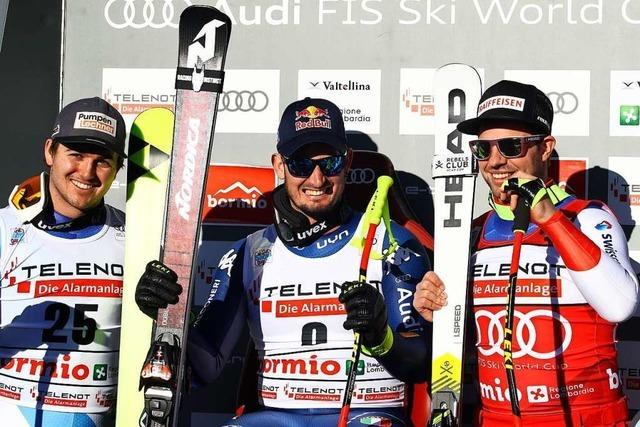 Südtiroler gewinnt auch zweite Abfahrt in Bormio