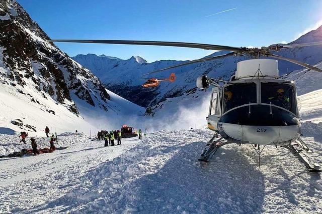 Mann aus Baden-Württemberg stirbt nach Lawinenabgang in der Schweiz