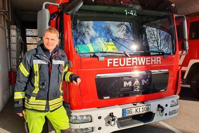 Freude und Frust beim Feuerwehrkommandanten von Kippenheim