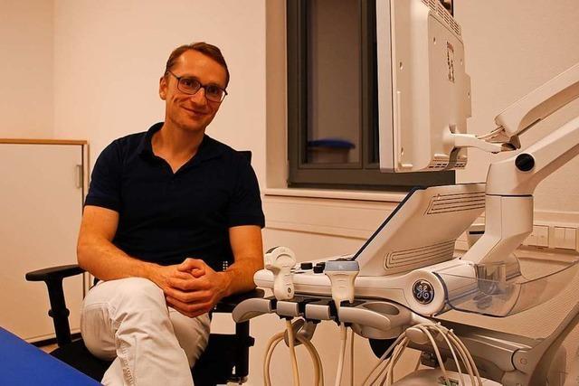 Matthias Weber geht als Arzt bewusst nach Ettenheim