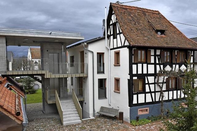 Försterhaus und Ortsmitte