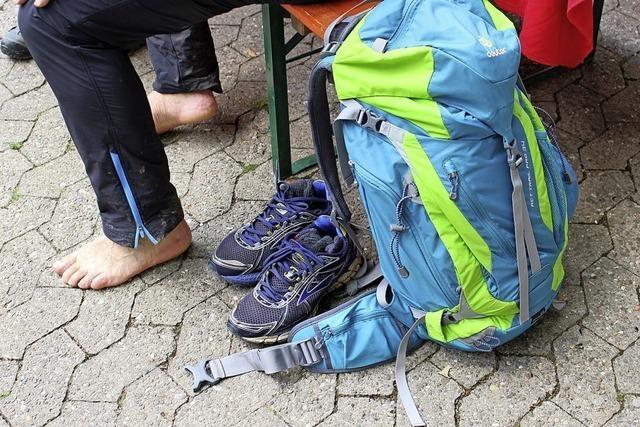 42,4 Kilometer wandern oder 92 Kilometer rennen