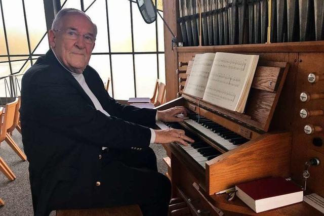 Seit 50 Jahren spielt Hanspeter Troendle die Orgel in der Abdankungshalle