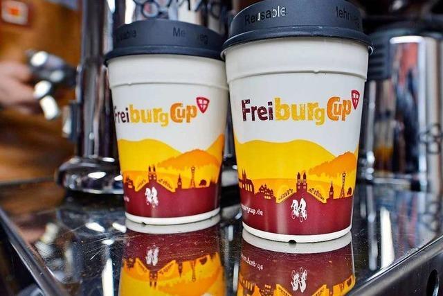 Freiburg-Cup: Erste Läden schaffen Pappbecher ganz ab