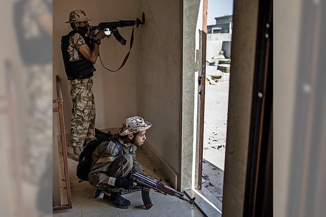 Libyen wird Schlachtfeld der Söldner