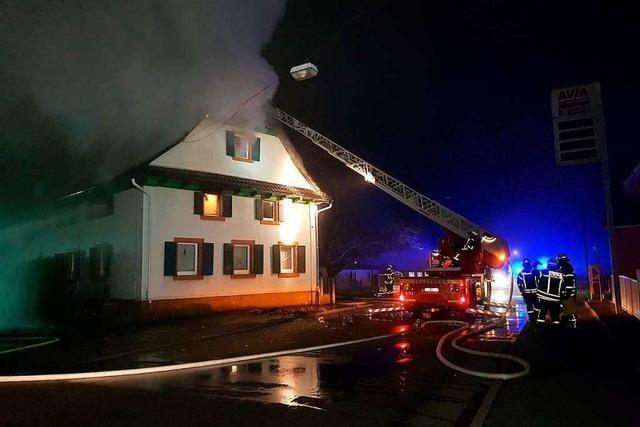 Wohnhaus in Neuried-Ichenheim hat gebrannt
