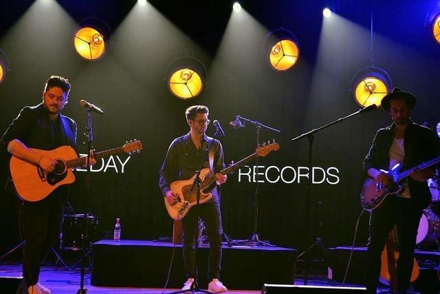 Sameday Records begeistern 600 Fans im Kursaal in Bad Säckingen