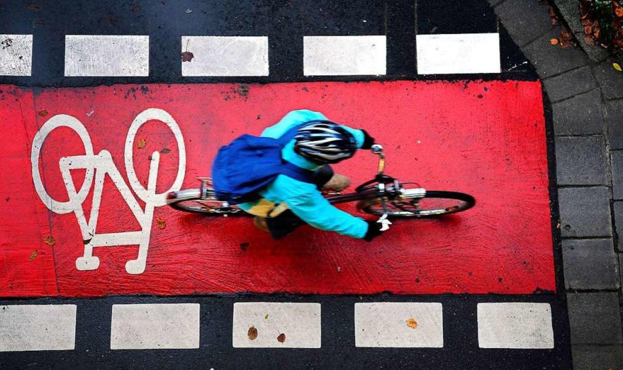 Die Zahl der Fahrradunfälle in Freibur...während E-Bike-Unfälle stark zunehmen.    Foto: Thomas Kunz