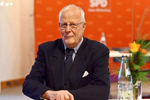 Der Freiburger Jürgen Gaß ist der SPD seit 50 Jahren treu