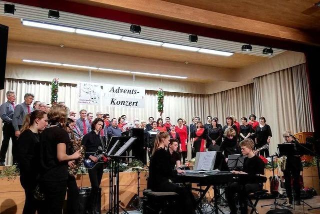 Sängerrunde Prechtal und SaxArounds aus Waldkirch harmonierten