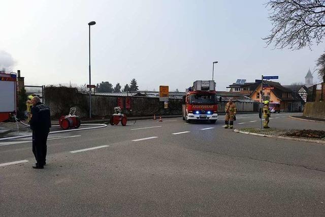 Feuerwehren aus dem Sulzbachtal und Rettungskräfte sind gefordert
