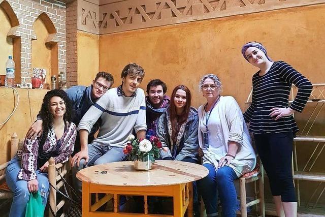 Was die Freiburger Schauspielschule in Marokko erlebt hat