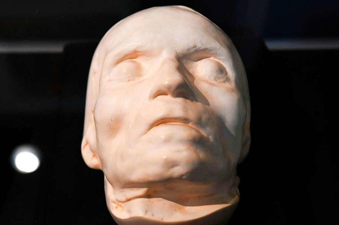 Für die Nachwelt konserviert: Beethovens Totenmaske  | Foto: Helmut Fohringer (dpa)