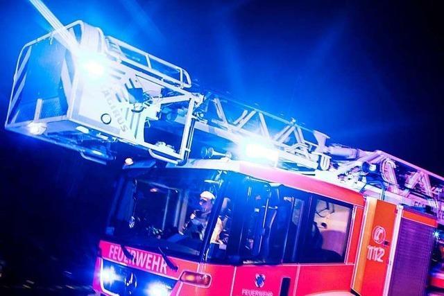 250 000 Euro Schaden durch Feuer in Ökonomiegebäude