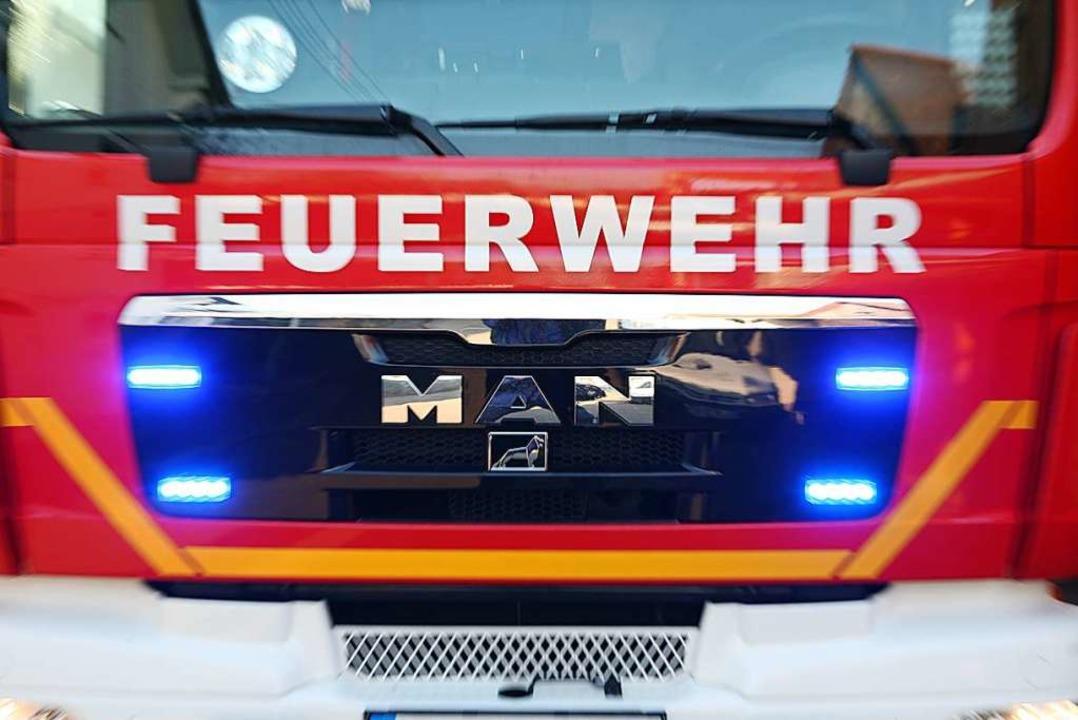 Die Feuerwehrabteilungen Wallburg, Mün...i und Rettungsdienst waren im Einsatz.    Foto: Bastian Henning