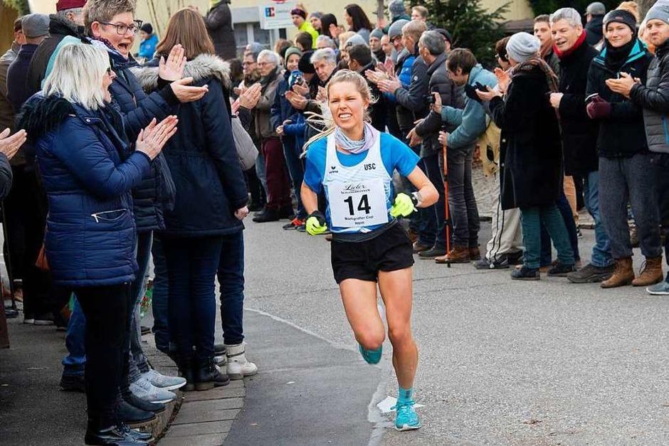 Annika Autenrieth vom USC Freiburg war die schnellste Frau. (Foto: Volker Münch)