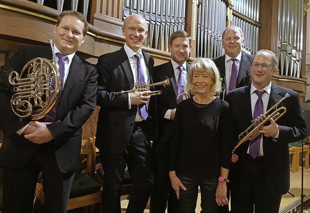 Mit virtuosem Schwung  ließen die Orga...flagranti   das alte Jahr ausklingen.   | Foto: Roswitha Frey