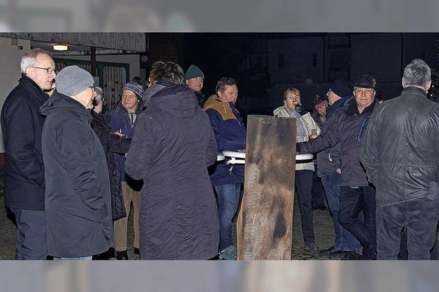 60 Eimeldinger Bürgern macht die Kälte nichts aus