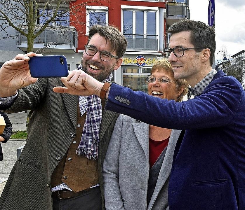 Würdest Du mit Martin Horn ein Selfie machen, wenn Du ihn triffst?   | Foto: Michael Bamberger