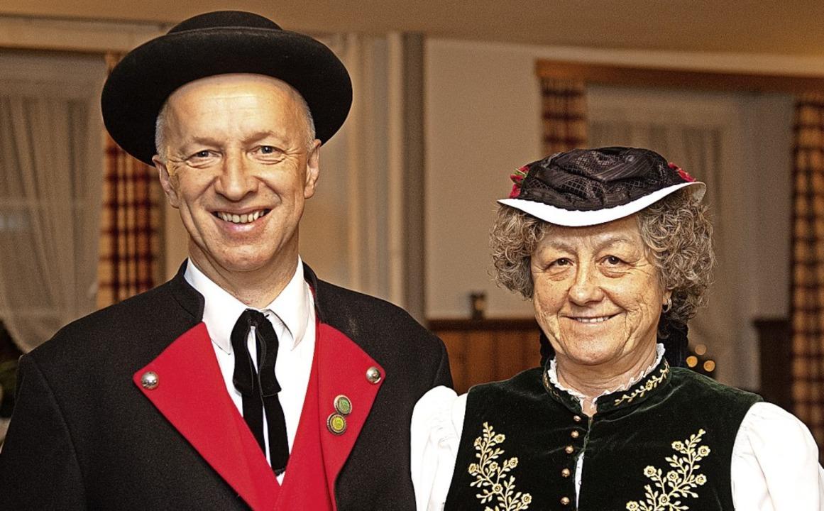 Einstimmig neu gewählt in den Vorstand...arald Hofmeier und Brigitte Hofmeier.     Foto: Wolfgang Scheu