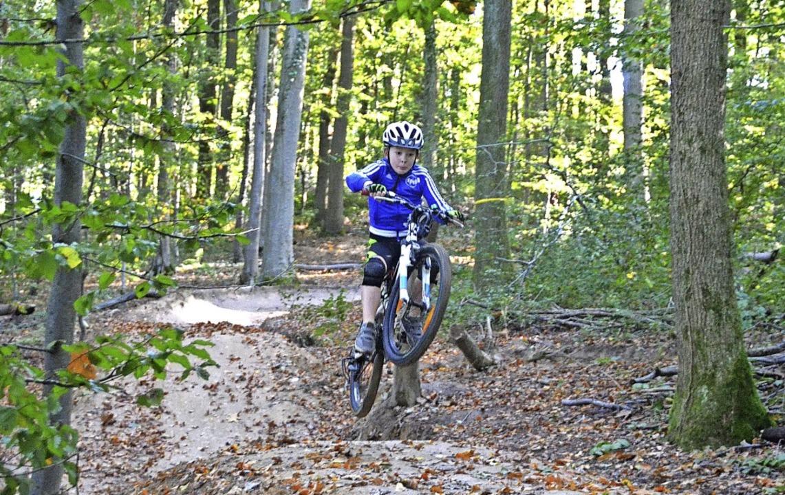 Für sportliche Kinder, aber auch Erwac...fingen einen neuen Mountainbike-Trail.  | Foto: Sebastian Krüger